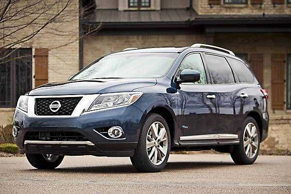 2018-2019 Nissan Pathfinder Hybrid — Hybrid 2018-2019 Nissan Pathfinder