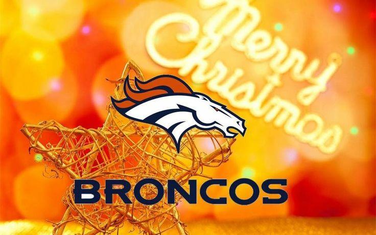 28 Best Denver Broncos Christmas Deco~ Images On Pinterest