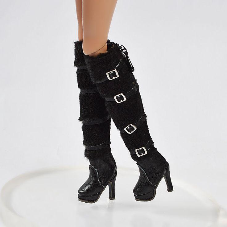 "Fashion Royalty FR2 Poppy Parker Momoko 12"" Doll Shoes Boots Scarpe Da Bambola | eBay"