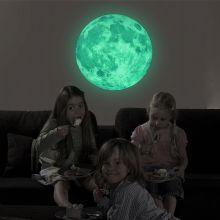 Vinile Decorativo Notturno -Fluorescente- NOCTILUCENT MOON