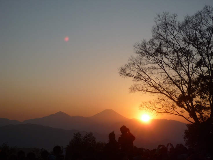Mt.Fuji with Sunset