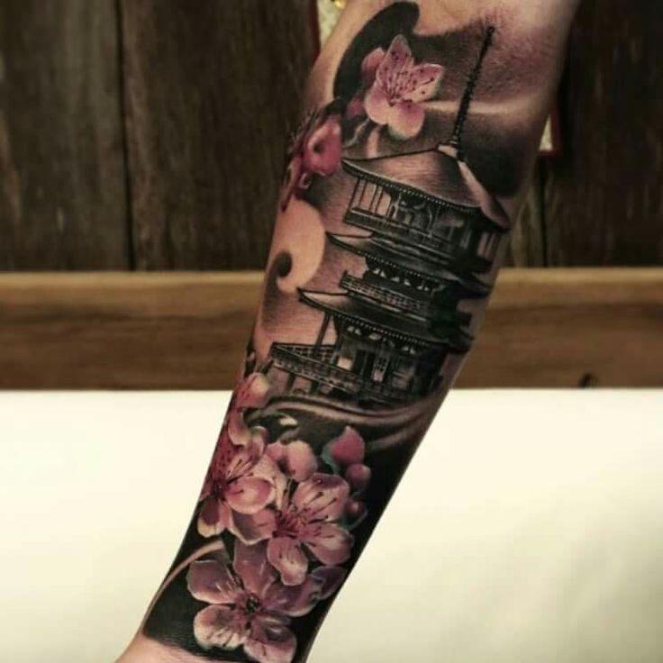 Sleeve Tattoo.. omg.. I think I want this next but on my leg... ❤️