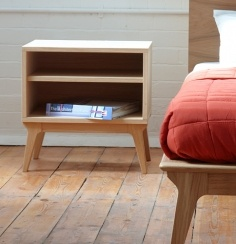 Valentine Bed by Matthew Hilton   casefurniture.co.uk: Matthew Hilton, Cases Valentines, Contemporary Furniture, Master Bedrooms, Bedside Tables, Cases Furniture, Valentines Bedside, Bedside Manners, Bedrooms Nightstand