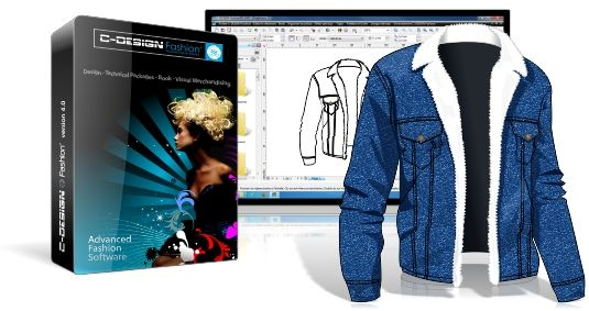 C-DESIGN ®: Software editor for creating and managing collections of apparel
