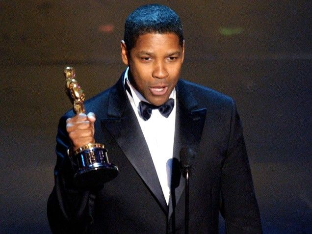 "74th Academy Awards® (2002) ~ Denzel Washington won the Best Actor Oscar® for his performance in ""Training Day"" (2001) (Won 2 Oscars. Another 68 wins & 88 nominations)"