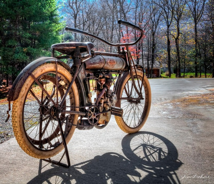 1914 Pope. Pope Motorcycles Were Built In Westfield, MA