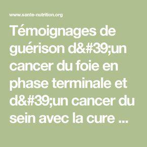 Témoignages de guérison d'un cancer du foie en phase terminale et d'un cancer du sein avec la cure Breuss - Santé Nutrition