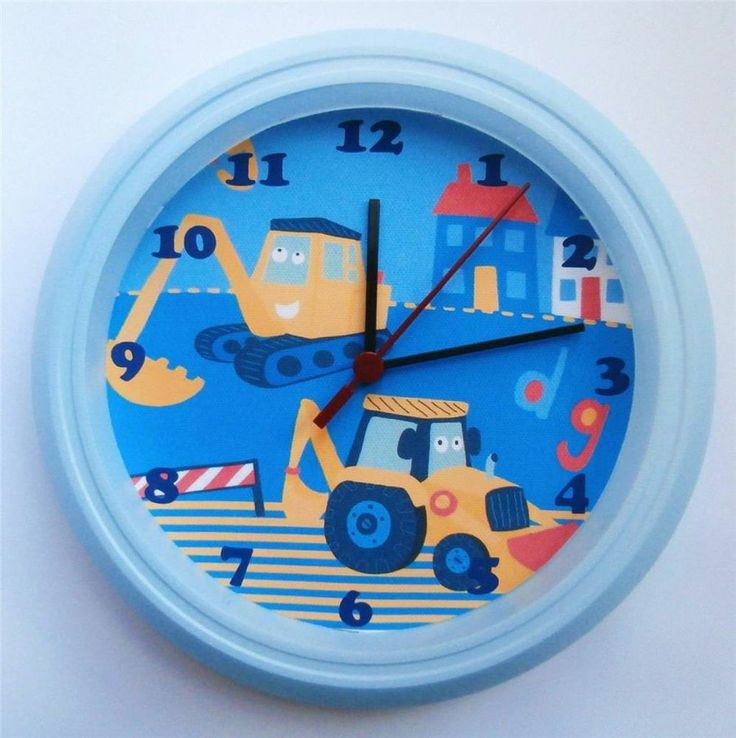 1000 Ideas About Kids Wall Clocks On Pinterest Picture