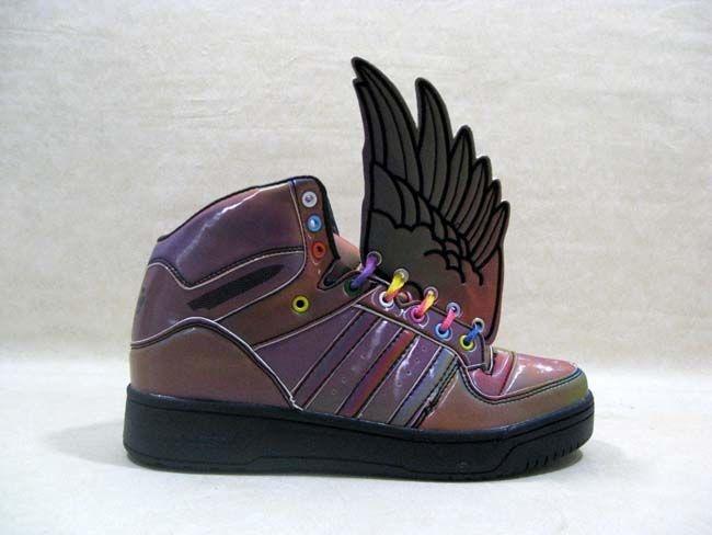 Adidas Angel Js Wings shoes Purple