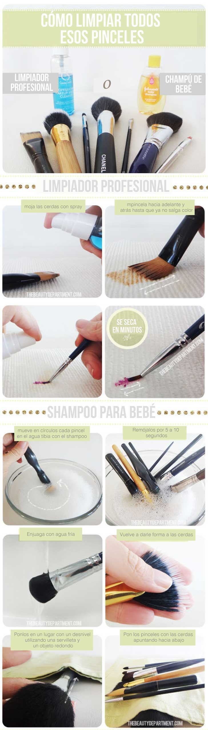 4 consejos para aprovechar tus herramientas de maquillaje