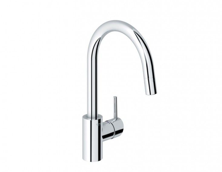 Grohe 32665001 Concetto Single Handle Pull-Down Spray Kitchen Faucet: Remodelista