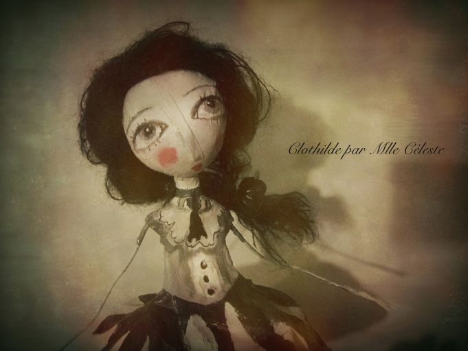 Mlle Céleste: Clothilde, art doll