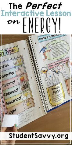 My students love these interactive lessons while learning about different forms of energy. This teaching resource is also part of an Earth Science Interactive Notebook series!