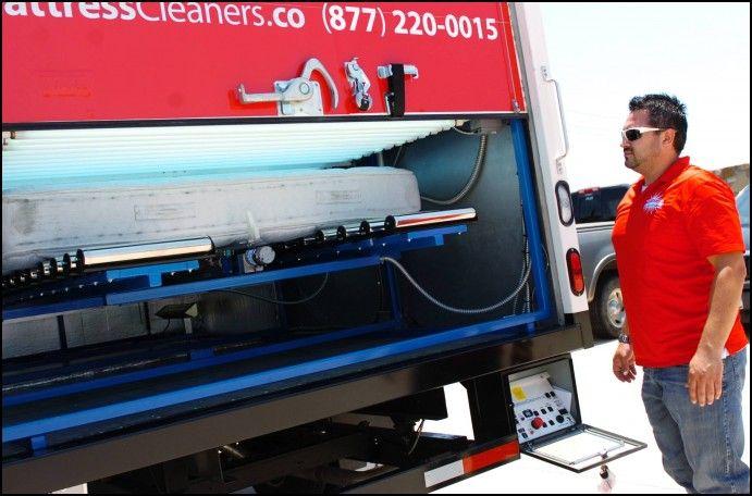 Mattress Cleaner Machine