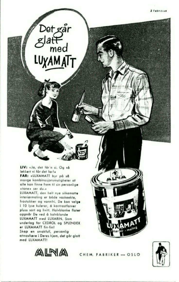 Alna Lux maling 1958