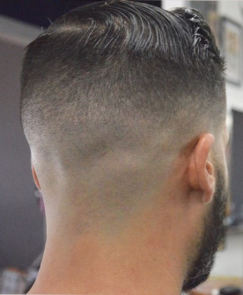 high and tight well faded undercut from the back