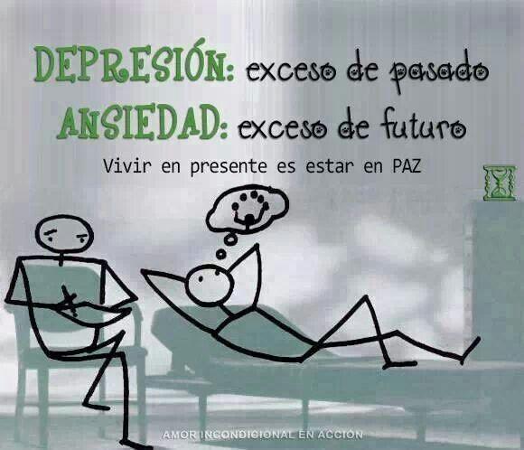 Depresión. .  Ansiedad . . .