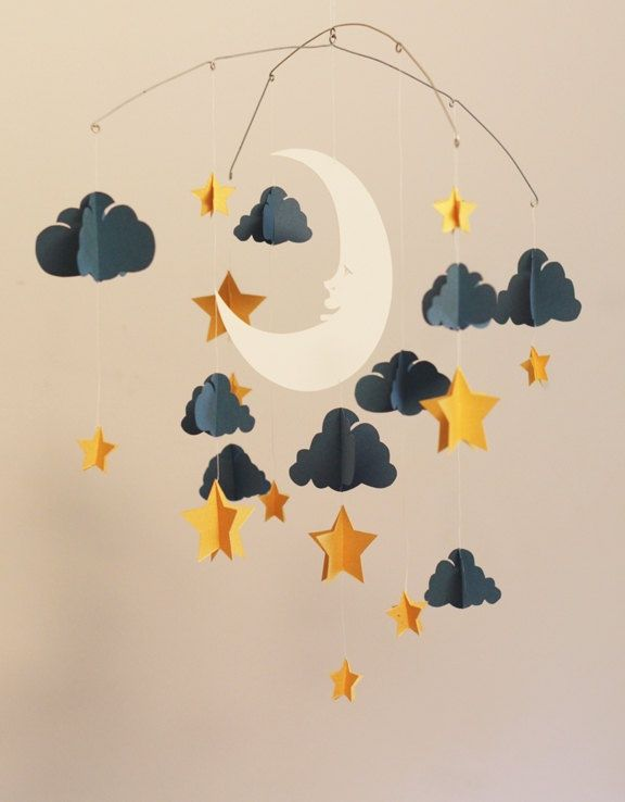 For my Maple...use the wire hanger, but with book page clouds and blackbirds