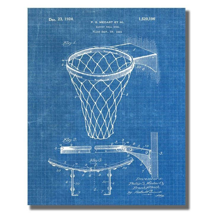 Basketball Goal US Patent Office