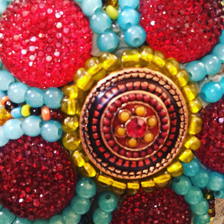 Beads and such mosaic