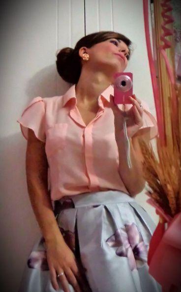 Ale's Pink Fairy Tale:storia di una principessa moderna...incantata da moda e make-up: #Outfit - Primavera ad Ottobre