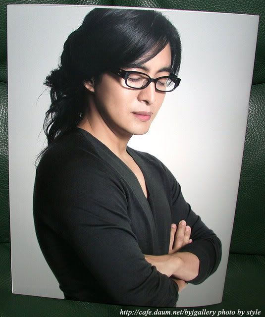Bae Yong Joon - (kind of agree ---> The long hair that he grew is just alluringly hypnotic to the eyes!