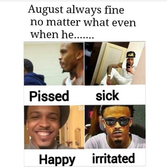 August Alsina Quote About Street Life In Picture: All About Panties Droppa Trio
