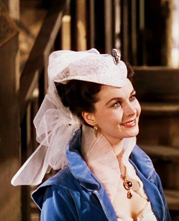 Vivien Leigh as Scarlet O'Hara in Gone With The Wind