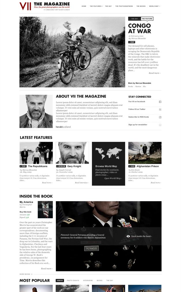 VII – The Magazine
