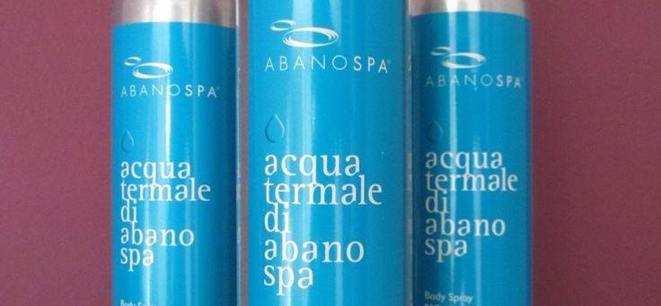 Acqua Termale ABANOSPA Thermae Abano Montegrotto www.visitabanomontegrotto.com
