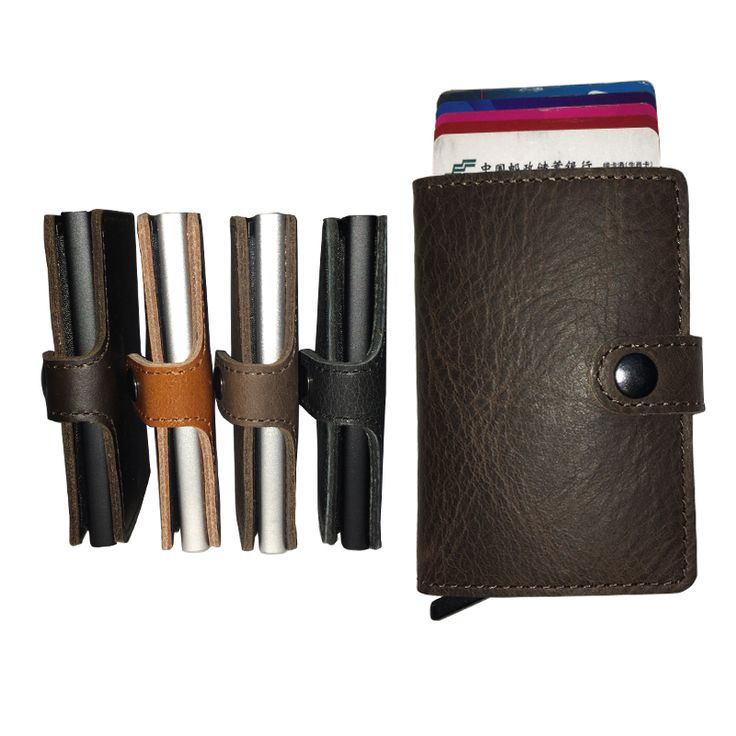 Find More Wallets Information about The Best Christmas Gift Minimalist 100% Genuine Leather Credit Card Holder Wallet with High Quality Rfid Protection,High Quality holder craft,China holder mount Suppliers, Cheap wallet from RFID Wallet Store on tpkwallet.Aliexpress.com