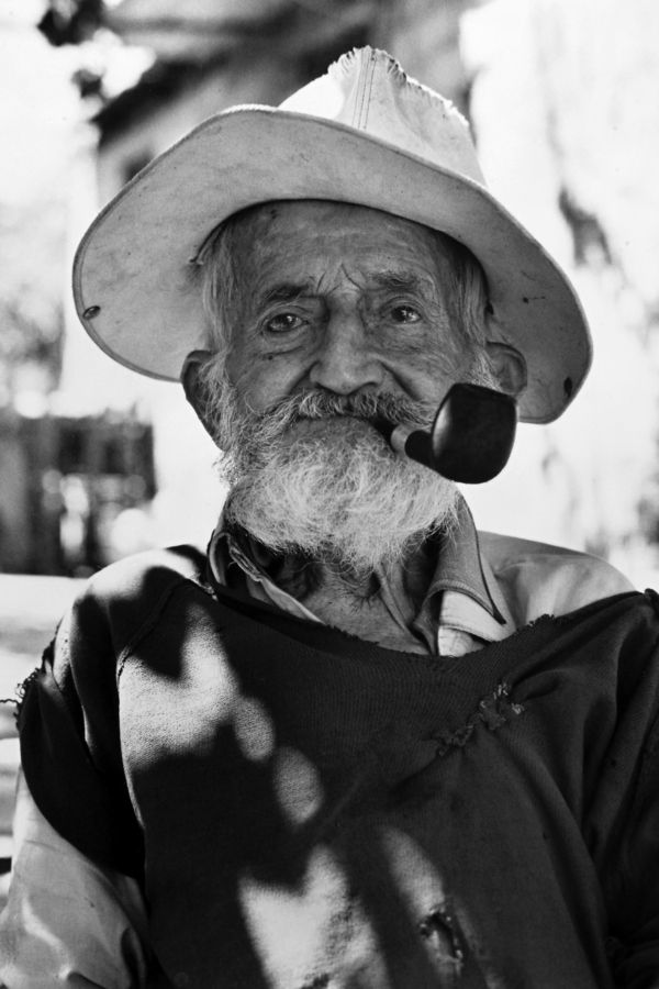 The Old Man from Lefkada, Greece