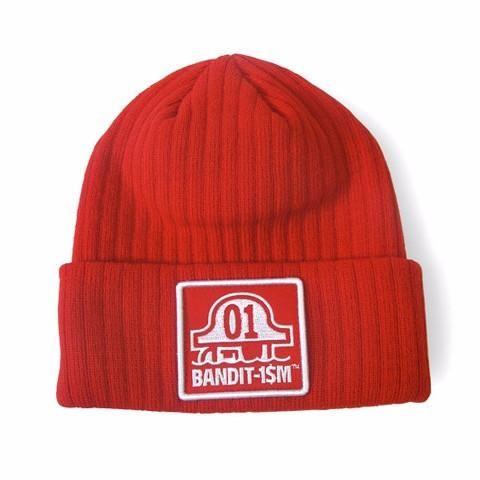 Beanie logo bandit1sm red  c24d47af9ea