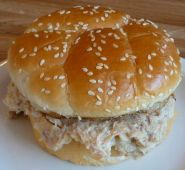 Creamed Shredded Chicken Sandwich - hard to find recipe. Great for tailgates, pot lucks and more. It's an Ohio favorite!