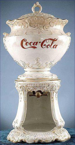 Vintage Coca-Cola Syrup Dispenser, 1890s. #bekmode