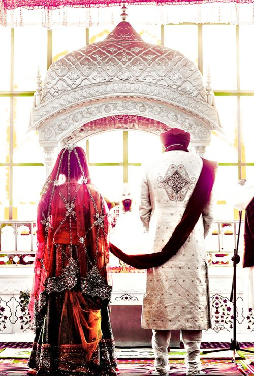 indian wedding, super cute picture! It's a must to have a picture like this taken during the wedding