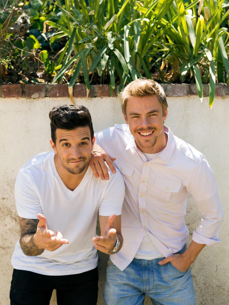 Derek Hough & Mark Ballas | BTS shots of Derek and Mark's Excellent Flip