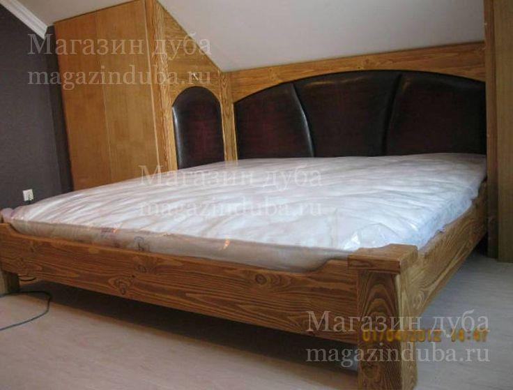спальня из массива сосны - искусствноо состаренная