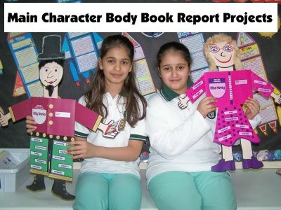 character book report project