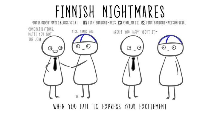 Funny Comics About Finnish Nightmares That You Will Can Understand  - Approved Humor