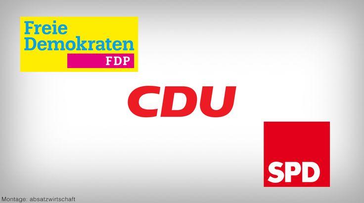 Wahlkampf 2017: Die SPD schaukelt durch hohe Wellen die Grünen sitzen auf einer Sandbank fest während die FDP mit einem Schnellboot daherkommt - http://ift.tt/2vdMKfZ #story
