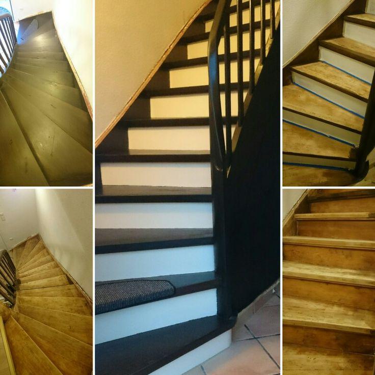 die besten 17 ideen zu lackierte holztreppe auf pinterest treppe newel beitr ge und renovierungen. Black Bedroom Furniture Sets. Home Design Ideas