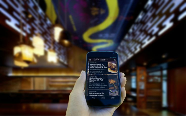 Birds Nest Restaurant Mobile App - News feed, allows your customer up to date what's happening in your restaurant business.  Could be your restaurant be featured in a magazine.