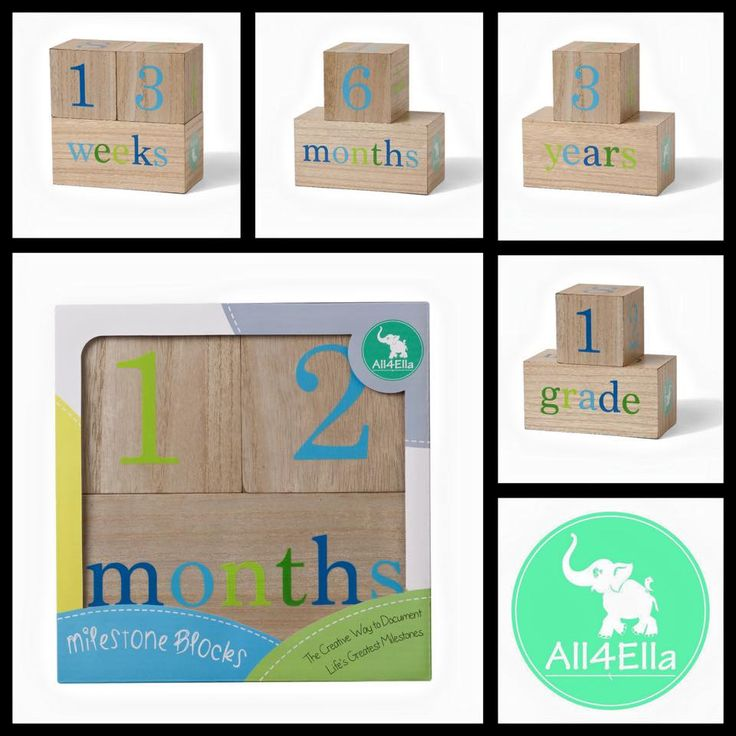 Our wonderful All4Ella blocks perfect to document pregnancy, infancy and childhood milestones! The possibilities are endless