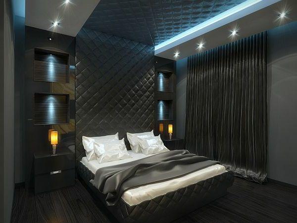 die besten 25+ schwarze schlafzimmer ideen auf pinterest, Schlafzimmer ideen