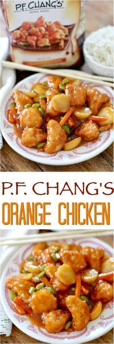 #FeedYourFam #ad P.F. Chang's Home Menu Orange Chicken featured at The Country Cook #dinner #chicken #easy