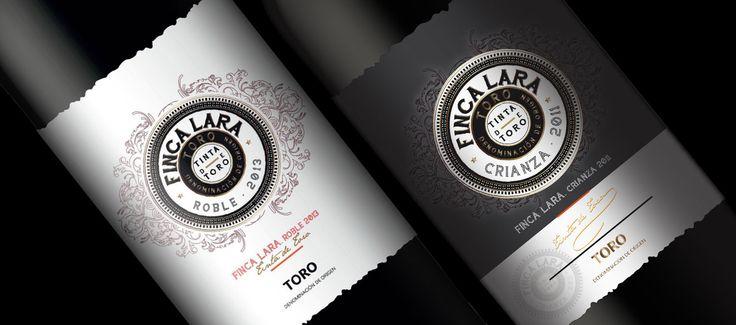 Diseño de Etiquetas para Vino.