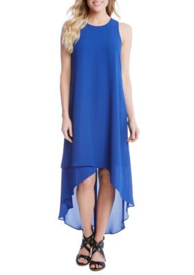 Karen Kane Women's Asymmetric High Low Dress -  - No Size