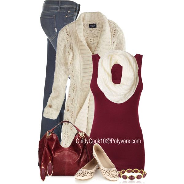 """Matching sweater and scarf"" by cindycook10 on Polyvore"