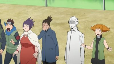 Boruto: Next Generations Episode 1 Review:  The episode starts out with a battle between an older Boruto and Kawaki. In this distant future Kawaki has leveled the Leaf Village and has supposedly killed Naruto. Before Kawaki and Boruto continues to fight we are directed back into the present day. Boruto and Shikadai catch a train to get some burgers. Just how advanced has Naruto become in the past 10 years? They have trains now and also burgers. We can see off bat that Naruto and Boruto have…